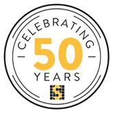 Sutcon 50 years logo