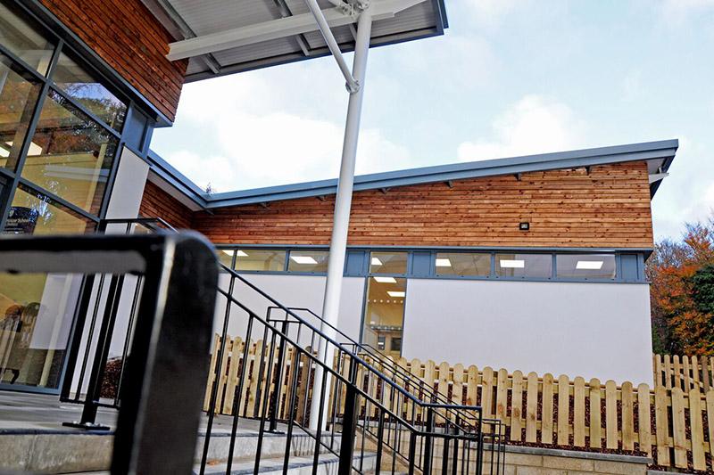 Westville-School--exterior-entrance